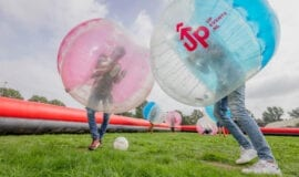 bubbelvoetbal kinderfeestje zomerkamp amsterdam